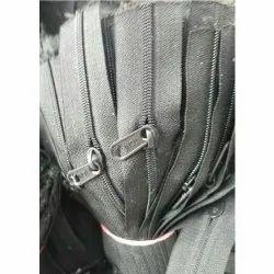 For Bag Grey Pocket Zipper
