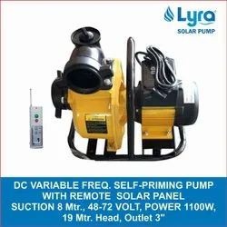 19m DC Variable Frequency Self Priming Pump