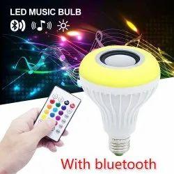 mix Ceramic LED Music Bulb, Model Name/Number: lb1