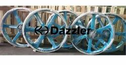 Dazzler Cast Iron V Belt Pulley, For Industrial Use, Number Of Grooves: 6