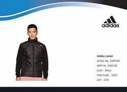 Polo Neck Polyester Adidas Winter Jacket