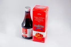Lycopene, Anti-Oxidant, Multivitamins and Essential Minerals Syrup