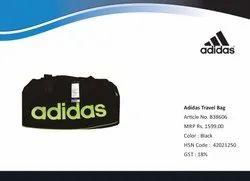 Polyster Black Adidas Travel Bag