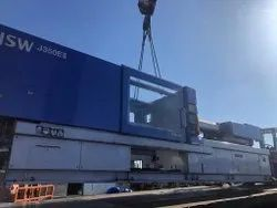 Used Plastic Injection Moulding Machine JSW 350Ell