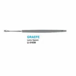 Graefe Lens Spoon