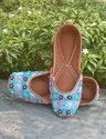 Valley Ethnic And Casual Footwear Hand Embroidery For Women