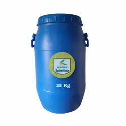 Spirulina Powder - 25 Kg - HDPE Drum, Ecolive Exports, 1kg