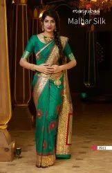 ANK Enterprise Art Work Weaving Silk Saree