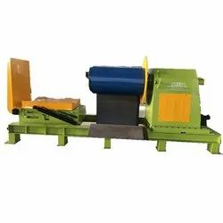 Hydraulic decoiler with the loading car with turnover function