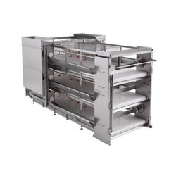 Robotized harvesting Model Cage Systems for Broilers Growing