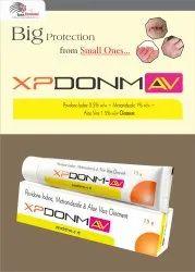 Povidone-Iodine 5%W/W  Metronidazole 1%W/W Aloe Vera 1.5%W/W Ointment