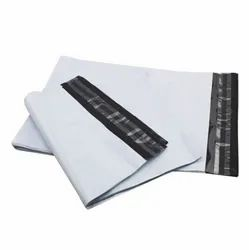 LDPE Plastic Plain Tamper Proof Courier Bags, For E-commerce,Logistics, Thickness: 50 Micron