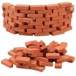 Rectangular Solid Red Clay Brick, Size: 9.5 X 4.5 X 3 Inch