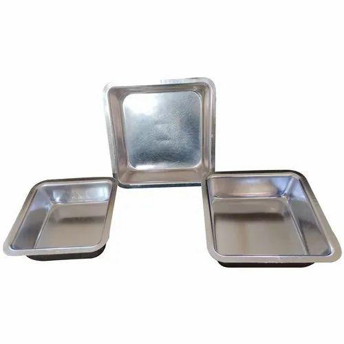Aluminium Square Shape Cake Mould