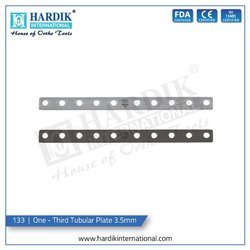 One - Third Tubular Plate 3.5mm