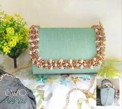 Beautiful Design Box Clutch Bag AY 166