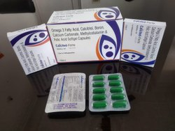 Omega 3 Fatty Acid EPA DHA Methylcobalamin Calcitriol Calcium Carbonate Folic Acid Boron