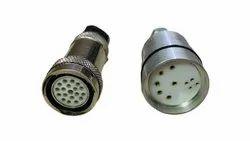 Dipeshwari Multi Pin Connectors, Gold Plated, Aluminum