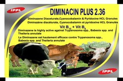 Diminazene Diaceturate, Vitamin B12 Granlues for Injection
