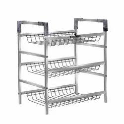 Multipurpose Kitchen Storage Shelf Shelves Holder Stand Rack Containers Kitchen Rack