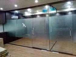 Office Plain Door Glass
