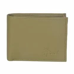Hawai Men Artificial Leather Beige Wallet with Multiple Card Slot and Zippered Coin Pocket For Men