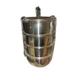 4 Layer Stainless Steel Tiffin Box