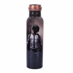 Printed Copper Water Bottles