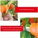 THUMB KNIFE FINGER CUTTER WITH 4 SILICON FINGER