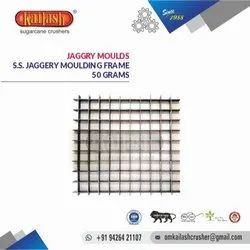 OM KAILASH STAINLESS STEEL JAGGERY MOULDS 50 GRAMS