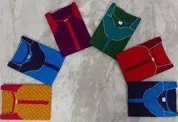 Print Multicolor ladies designer cotton nighty