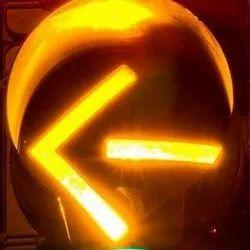 Yellow LED Traffic Signal Arrow Light