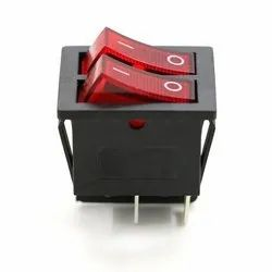 On/Off 16A 250V AC Cooler Double Switch