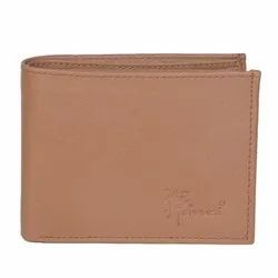 Hawai Non Leather Tan Colour Wallet for Men  3 Card Slots, 2 Photo ID Window