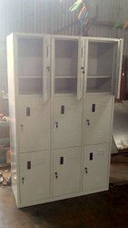 Pad Loc Storage Locker Steel Worker Lockers, For Industrial, No Of Lockers: 9 Locker