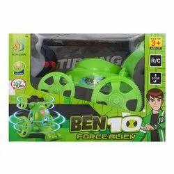 360 Degree Long Wheel Stunt Car (Benten / Ben 10)-Green