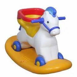 Plastic Yellow 50988 2 in 1 Napoleon Horse Ride Toy
