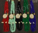 Beaded Kundan Necklace Set