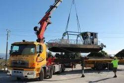 Heavy Crane Transportation Service