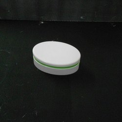 White Bi-Injection FTC with Green Ring