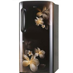 4 Star Brown LG GL-B201AHPY Single Door Refrigerator, Capacity: 190 Liters