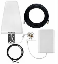 2G 3G 4G LTE Tri Band Antenna Kit With Cable External Wi-Fi Range Enhancer - 900/1800/2100 MHz