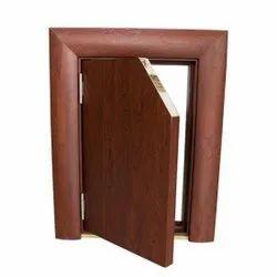 Rectangular Black Molded Wpc Door Frames, For Home,office