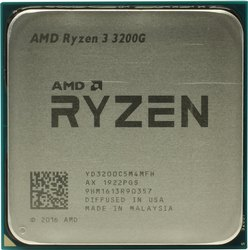 Amd Ryzen 3 3200g Computer  Processor