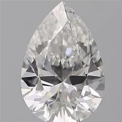 Pear 0.75ct F VVS2 GIA Certified Natural Diamond