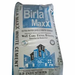 Birla High Gloss White Cement, Packaging Type: Gunny Bag, Packaging Size: 50 Kg
