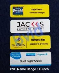 Corporate Name Badges