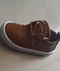 Rexin Daily wear Brown Casual Boys Shoes, Size: 5