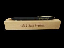 Blue,Black Savri Personalized Slim Pen, For Gifting,Promotional
