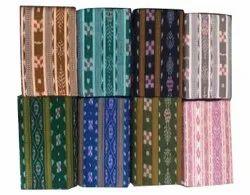 Cotton Multicolor Ikat Handloom Fabric
